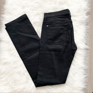 7 for all mankind Straight jeans in Black
